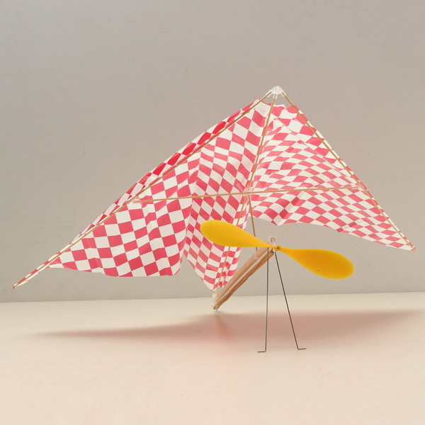 Buy ZT Rubber Powered Parasol Glider A012 Aircraft Plane Assembly Model