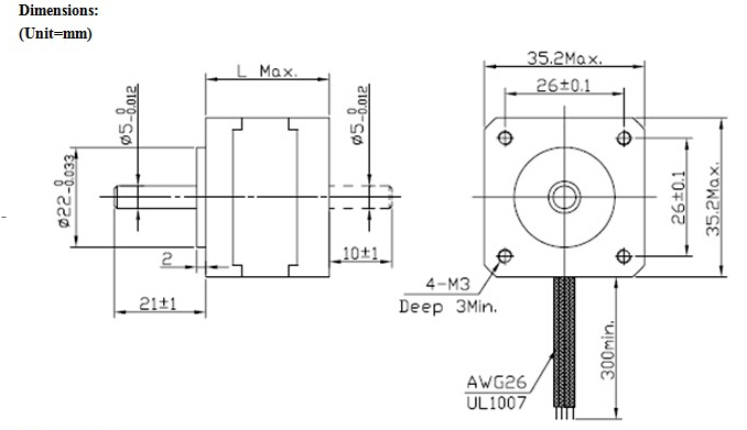 SKU228645_10 jkm nema14 1 8�35 hybrid stepper motor two phase 34mm 1400g cm 1a nema 14 50 wiring diagram at honlapkeszites.co