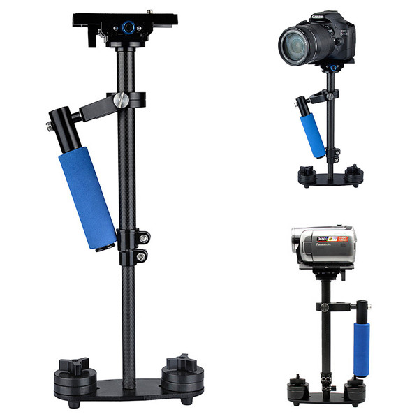 Buy S60 Carbon Fiber Handheld Stabilizer Steadicam With Bag For Camcorder Camera Video DV DSLR