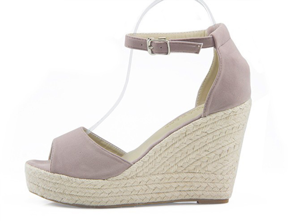Women Wedge Sandals Hight Heel Opened Toe Straw Platform Wedges