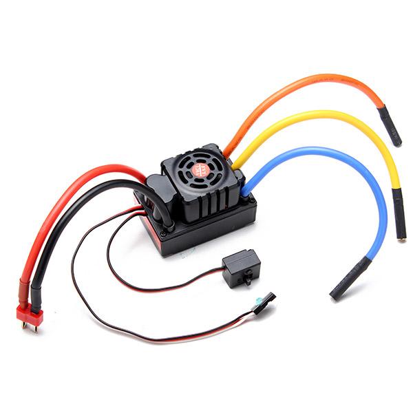 Buy FVT 120A Waterproof Brushless Sensorless ESC For 1/8 1/10 RC Car Skateboard