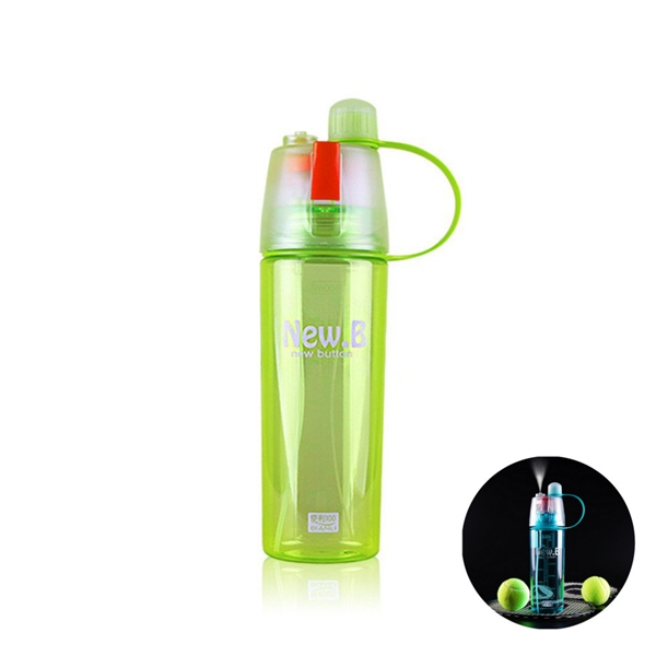 summer creative plastic cups readily cup outdoor sports water bottles cool spray
