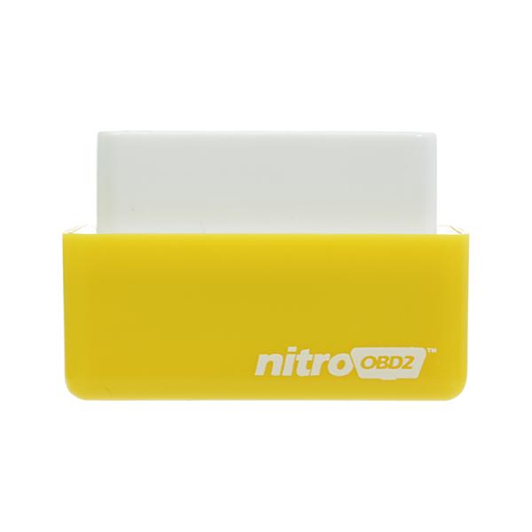 Nitro OBD2 Benzine Yellow Economy Chip Tuning Box Power Fuel Optimization Device