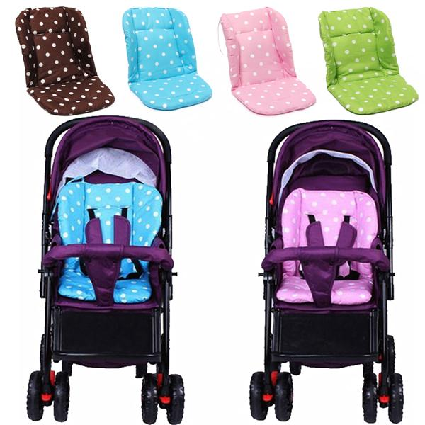 Cotton Baby Infant Thick Pushchair Mat Cover Stroller B