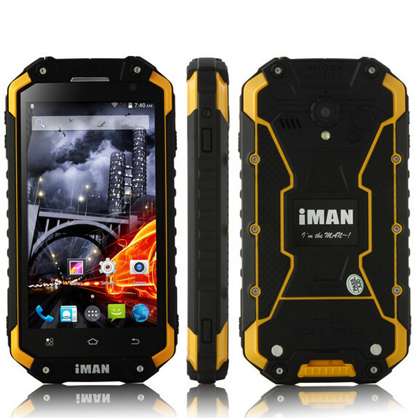 Buy iMAN i6 IP68 4.7-inch MTK6592 Octa-core Waterproof Outdoor Smartphone