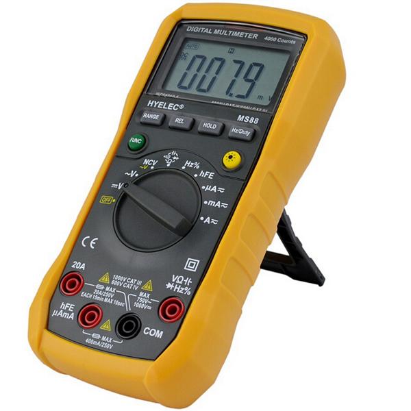 Fluke 88 Digital Multimeter Manual : Hyelec peakmeter ms professional multimeter