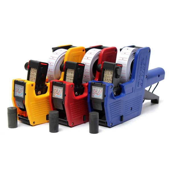 Image of Prezzo gun prezzi kit etichettatrice con inchiostro di ricambio 2 etichette con 400 etichette