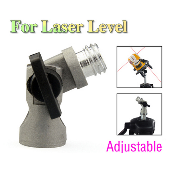 Tiltable Adapter Tilt Tripod Interface For Laser Level