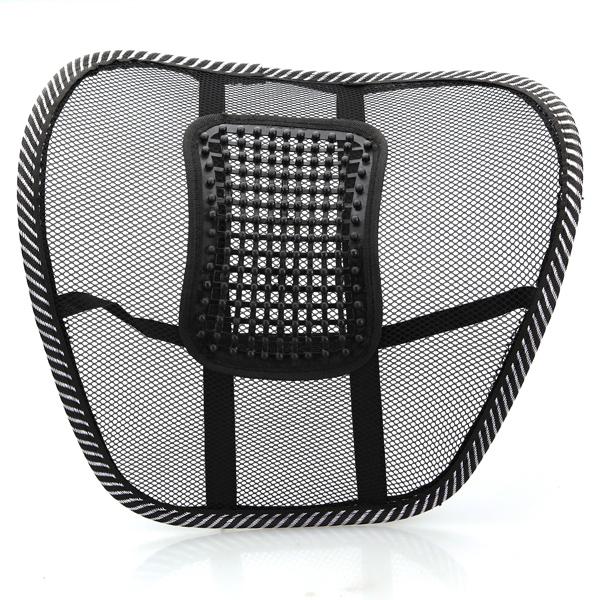 Car Seat Chair Massage Back Lumbar Support Mesh Ventila