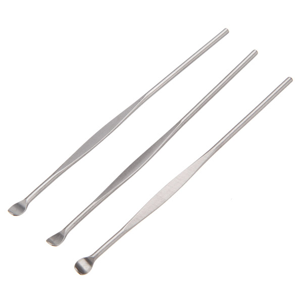 3pcs Stainless Steel Earpick Ear Wax Removal Cleaner Tool ... Ear Wax Removal Tool