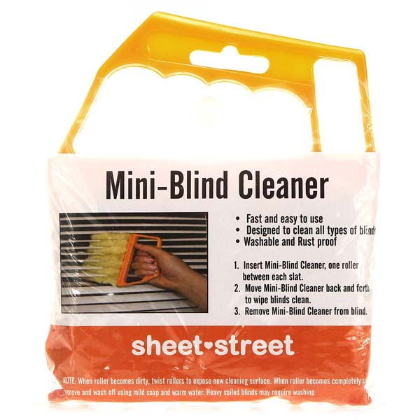 Mini 7 Hand Held Microfibre Venetian Blind Brush Window