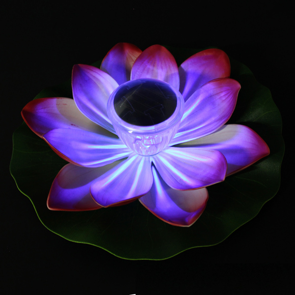 Solar Led Lotus Garden Flower Lamp End 7 28 2020 11 15 Pm