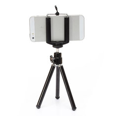 360° Rotatable Cell phone Tripod Stand Holder for Samsung Smartphone