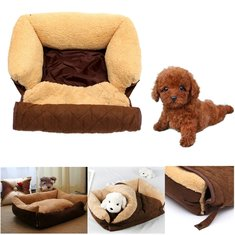 Multifunction Dog Cat Bed Cushion Puppy Sofa Couch Mat Kennel Pad