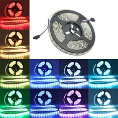 5M SMD 5050 RGB Waterproof IP65 300 LED Strip Light DC 12V