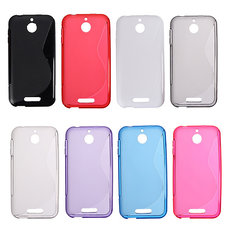 S Line Wave Ultrathin Soft TPU Silicone Case For HTC Desire 510