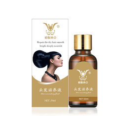 Herbal Hair Care Liquid Repair Moist Smooth Bright Deeply Norish Healthy Luster 30ml