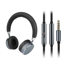 ROCK RAU0512 Universal Stereo Wired Control Headset Headphone With Mic For Tablet Phone