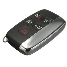 5 Button Remote FOB Key Case Shell for LAND ROVER LR4 Range Rover Sport Evoque