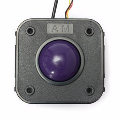 45mm Purple Ball PS/2 PCB Connector Arcade Trackball Mouse For JAMMA MAME Arcade