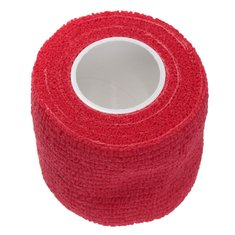 4Pcs Red Non-woven Adhesive Elastic Supporting Finger Arm Bandage Tapes