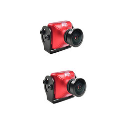 2PCS RunCam Eagle 2 800TVL CMOS 2.5mm 4:3 NTSC/PAL Switchable Super WDR FPV Camera Low Latency Red