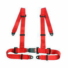 Sport Racing Car Harness Safety Seat Belt 3 4 Point Fixing Mounting Quick Release