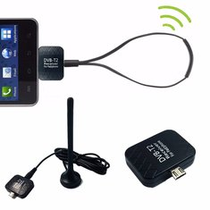 Micro USB DVB-T2 DTV Link USB Digital TV Receiver Tuner Stick For Android Tablet