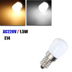E14 1.5W SMD 2835 LED Warm White White Refrigerator Light Bulb Lamp AC 220V