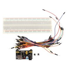 Geekcreit® MB-102 MB102 Solderless Breadboard + Power Supply + Jumper Cable Kits Dupont Wire For Arduino