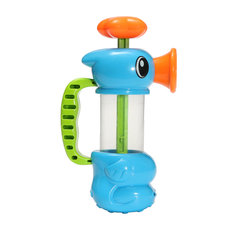 Hippocampus Sea Horse Shape Kids Pump Pumping Spray Water Bath Shower Pool Play Toy
