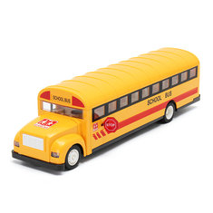 2.4G Remote Control School Bus Car Charging Electric Open Door RC Car Model Toys For Children Gifts