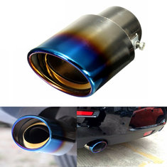 1Pcs Universal Car Auto Stainless Steel Exhaust Muffler Tail Pipe Modification