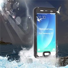 SK-803 4 Defence IP68 Waterproof Case Shockproof Hard Cover for Samsung Galaxy S7
