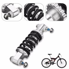 B95 Black Metal 450LBS/in Rear Suspension Shock Damper Cycling Bicycle Bike Parts