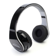Wireless Bluetooth Stereo Foldable Over Ear Headphone with Receiver for Samsung Xiaomi Huawei