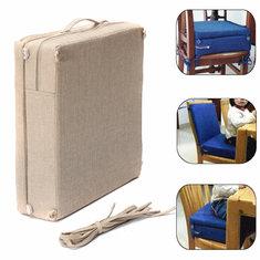 38.5x38.5x38cm Kids Sponge Highchair Seat Pad Chair Booster Cushion Toddler High Cushion Cover