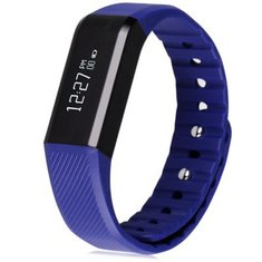 Vidonn X6 Smart Watch IP65 Waterproof Bluetooth 4.0 Smart Wristband Bracelet Fitness Watch Blue Purple