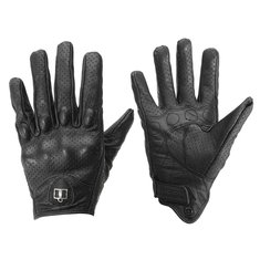 Outdoor Leather Gloves Protective Armor For