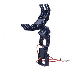 4DOF Robot Arm Claw Holder Mechanical Arm with 4pcs Servo