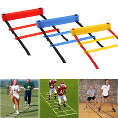 IPRee® 8 Rungs Speed Agility Ladder Soccer Sport Ladder Training Carry Bag