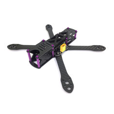 GE-FPV GE-5 V2.0 225mm FPV Racing Frame Kit RC Drone 4mm Arm Carbon Fiber With 5V Output PDB