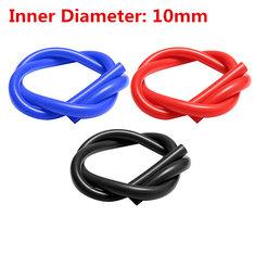 1M Inner Diameter 10mm Silicone Tube Silicone Vacuum Hose Tubing Turbo Coolant Tube
