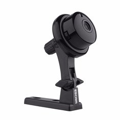 ESCAM Button Q6 Mini 720P IP Night VIsion WiFi Camera Support  to 128GB Card Motion Detection Audio