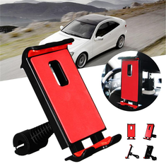 Universal 360 Degree Rotation Car Seat Back Side Phone Holder Stand for Xiaomi iPhone Mobile Phone