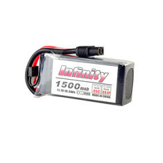 Infinity 3S 11.1V 1500mAh 45C Graphene LiPo Battery XT60 SY60 T Plug Connector for RC Drone