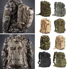 IPRee 30L Outdoor Tactical Backpack Rucksack Camping Hiking Trekking Shoulder Bag Pack