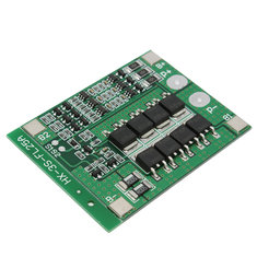 2Pcs 3S 11.1V 25A 18650 Li-ion Lithium Battery BMS Protection PCB Board With Balance Function