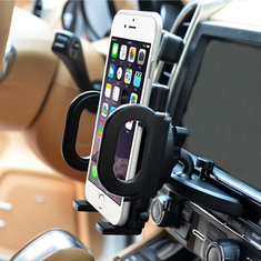 Car CD Slot Dash Mount Holder Cradle Dock For Cell Phone And GPS