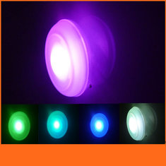 Color Changing Bath Swimming Pool Floating Waterproof  LED Bubble Night Light